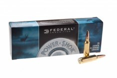 Патрон нарізний Federal, Power shok, 300WSM, куля 180 GR (11,66 г), SP 20шт.уп, шт 300WSMC