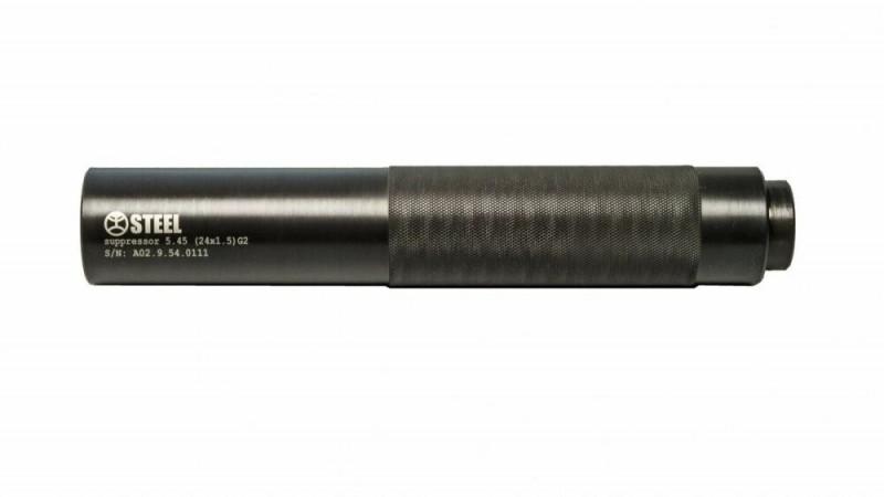 Глушник Suppressor Steel  Gen 2 5,45 24х1,5
