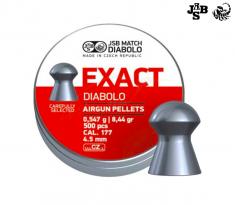 Пульки JSB Diabolo Exact 4.51мм, 0.547г (500шт) , 546236-500