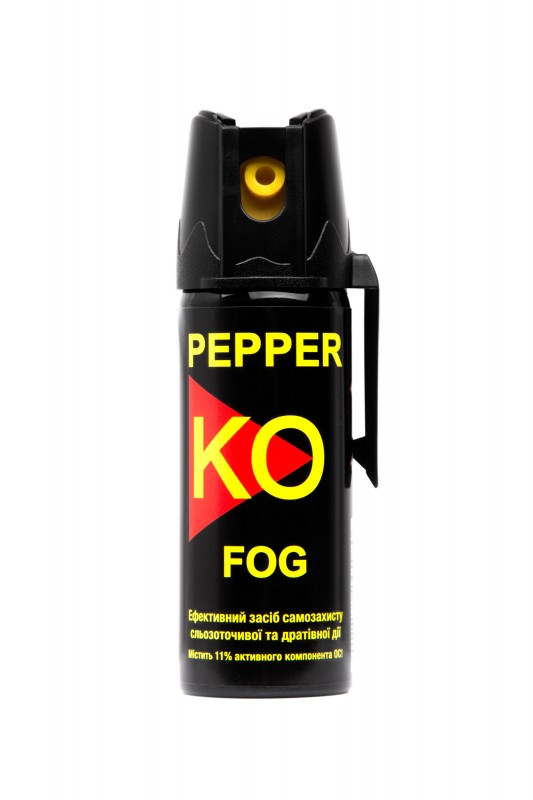 Баллон газовый Klever Pepper KO Fog аэрозольный. Объем - 50 мл