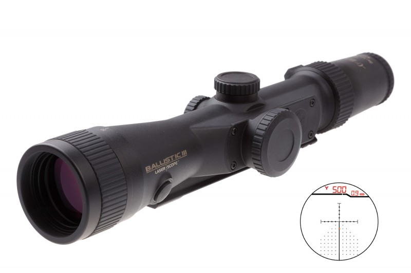 Приціл оптичний Burris Laser Scope Ballistic 3x-12 Eliminator III, 200121