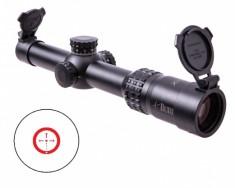 Приціл оптичний Burris XTRII  1x-5x-24mm ILL Ballistic CQ Mil, 201001