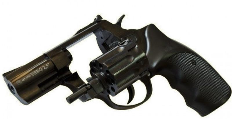 Револьвер Flobert Ekol Major Berg 4mm 2,5 черный, шт