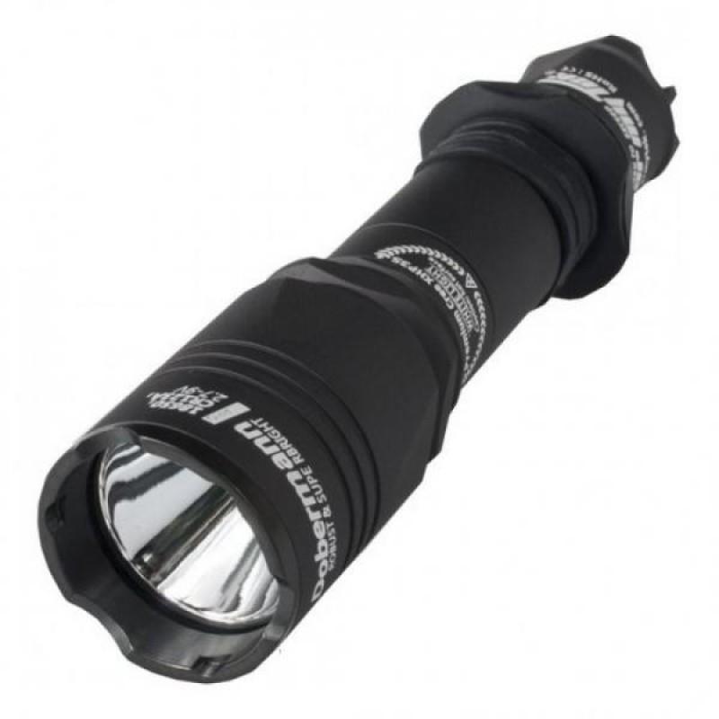 Ліхтар портативний  Armytek Dobermann Pro / Black / XHP35 HI (Warm)