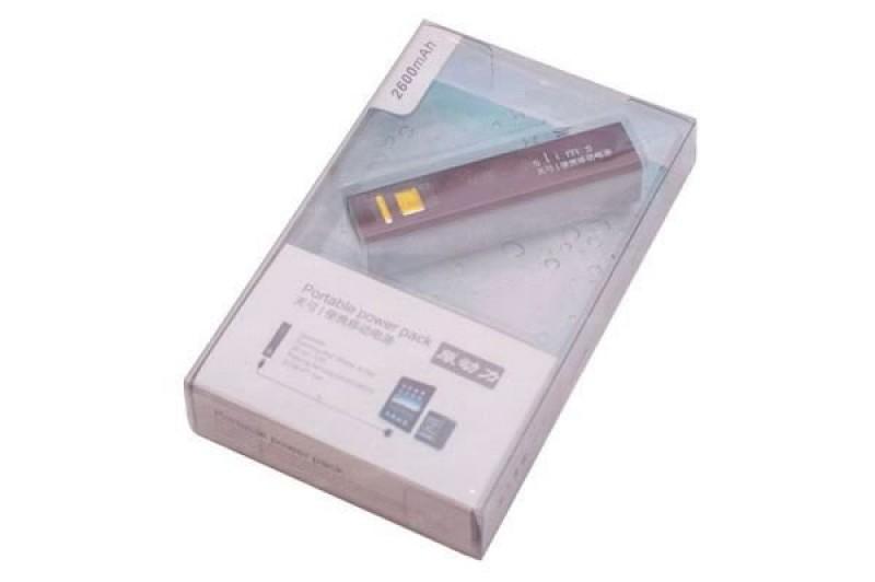 Зарядное устройство Soshine Power Bank Slim LiPo 2600mAh