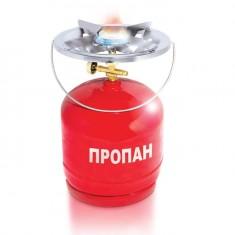 Горелка газовая INTERTOOL GS-0005 с баллоном 5 л (расход 145 г/ч, заправляется на АГЗС)