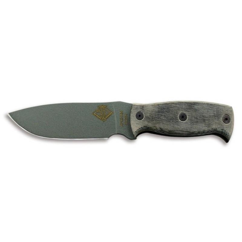 Нож Ontario Afgan, черная микарта