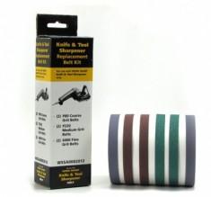Набор абразивных ремней Darex для Work Sharp ®, 2 шт. Р80, 2шт. Р220, 2 шт. Р6000