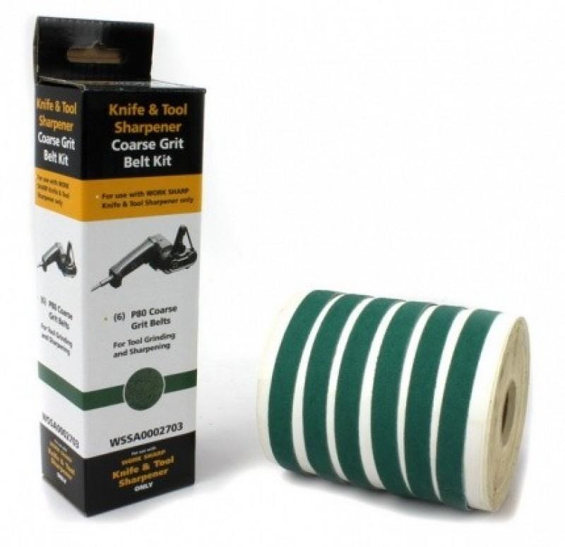 Абразивные ремни Darex для Work Sharp ®, 6 шт. Р80