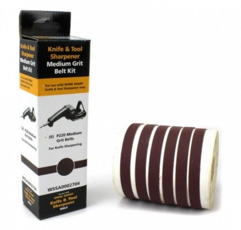 Абразивные ремни Darex для Work Sharp ®, 6 шт. Р220