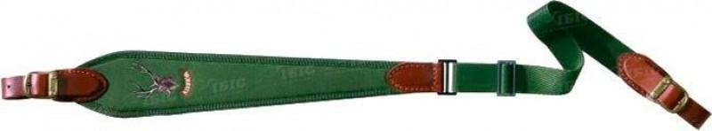 Ремень руж. Riserva Олень зелен. широкий.