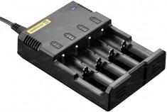 Зарядное устройство Nitecore I4 + 12V авто. адаптер