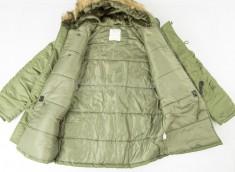 куртка Аляска длин.оливк., Ш 10181201