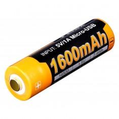 Аккумулятор 14500  (ARB-L14-1600U)micro usb зарядка