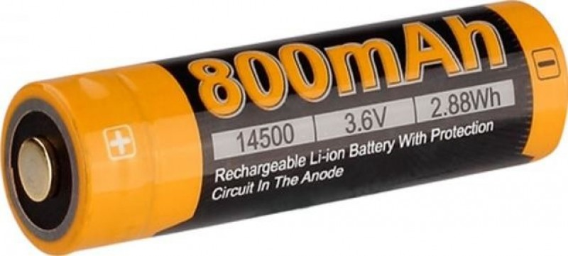 Акумулятор 14500 Fenix 800 mAh Li-ion