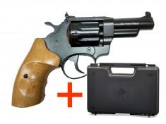 Револьвер под патрон Флобера Safari 431М Бук BLACK + КЕЙС SAFARI