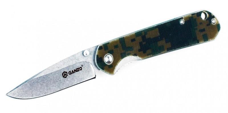 Нож складной туристический Ganzo G6801-CA