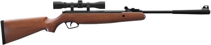 Винтовка пневматическая Stoeger X10 Wood Combo з прицілом, 4,5 мм