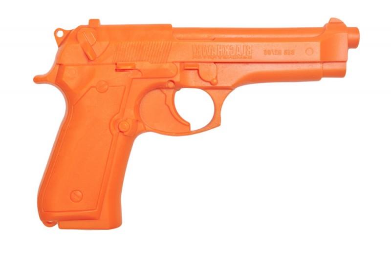 Пистолет тренировочный BLACKHAWK Beretta 92 ц:оранжевый, шт