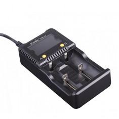 Зарядное устройство Fenix 2*26650, 18650, 16340, 14500, 10440, AA, AAA, C