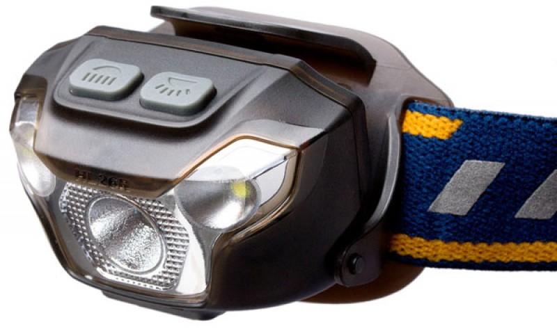 Ліхтар світлодіодний налобний Fenix HL26R чорний
