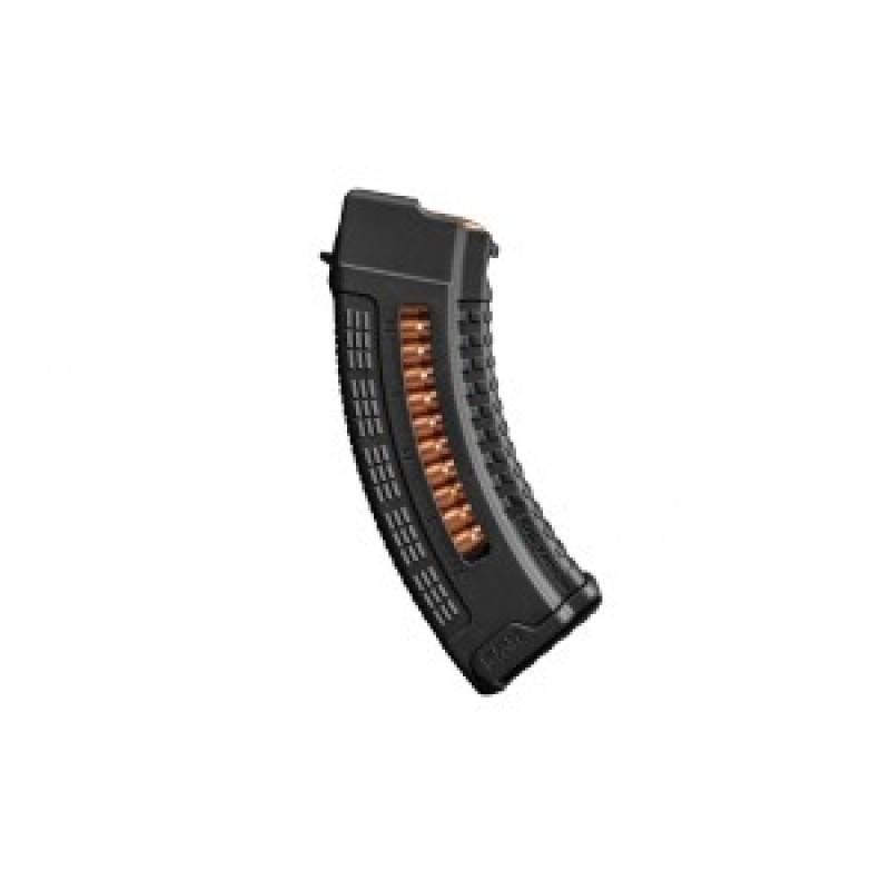 Магазин FAB для AK47/74 7.62x39, 10 місць, полімер, чорний