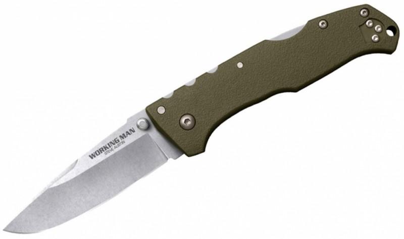 Нож Cold Steel Working Man ц:оливковый