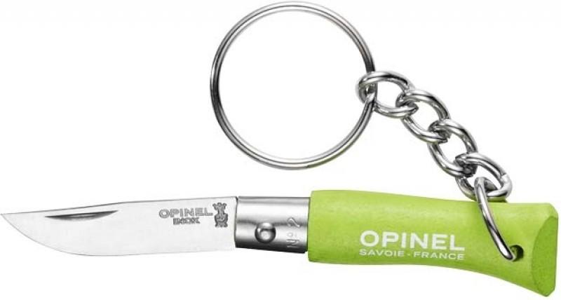 Нож - брелок Opinel 2VRI ц:салатовый