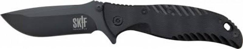 Нож SKIF G-01BC 8Cr13MoV, G-10 ц:черный