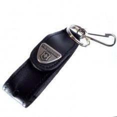4.0515 Карабин кожаный  для ножа с фонариком, шт