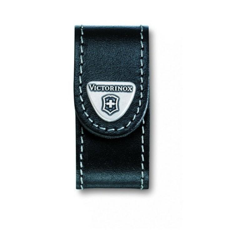 4.0518.XL Чехол Victorinox поясной чёрный кожаный, шт
