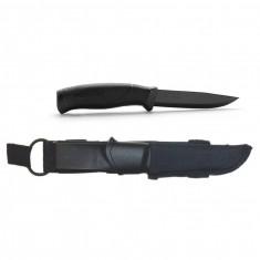Ніж Morakniv Companion Tactical BlackBlade, чорний клинок, колір рукоятки чорний