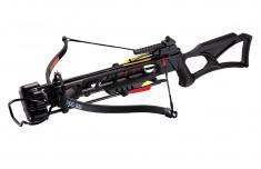 Арбалет Man Kung MK-XB23BK, Рекурсивный, винтовочного типа, пластик. приклад ц:черный