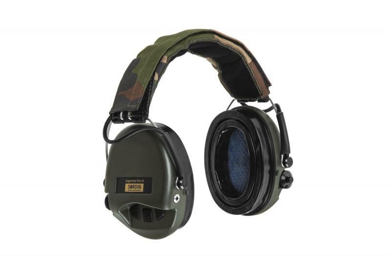 Активные наушники SORDIN Supreme Pro-X с LED фонарём, IP67