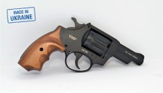 Револьвер под патрон Флобера Safari RF-431 cal. 4 мм, буковая рукоятка