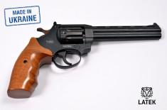 Револьвер под патрон Флобера Safari RF-461 cal. 4 мм, буковая рукоятка