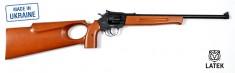 Револьверная винтовка под патрон Флобера Safari SPORT cal. 4 мм ствол 43 см, буковый приклад