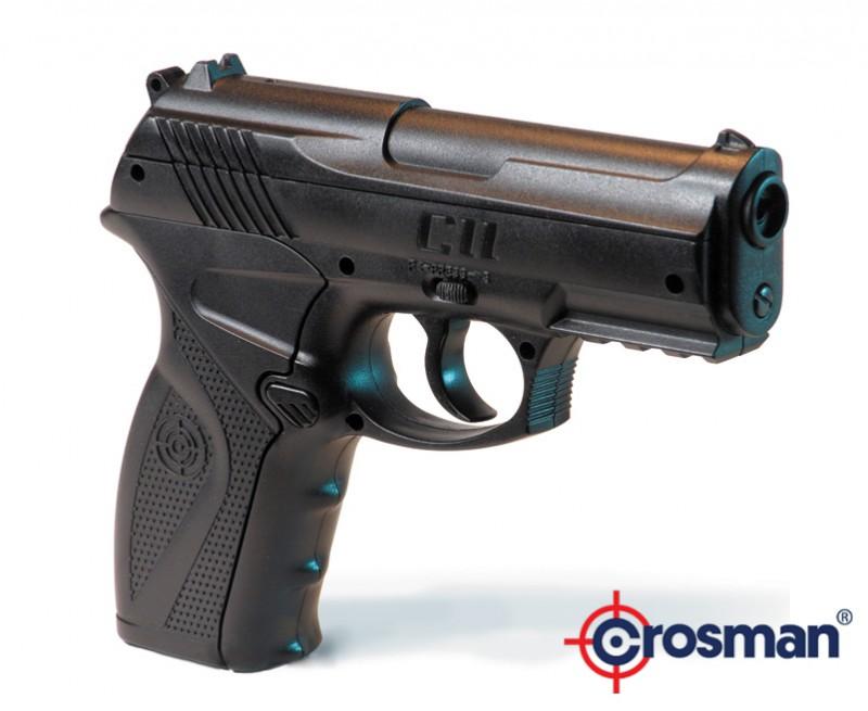 Пневматический газобалонный пистолет Crosman C11 4.5мм.