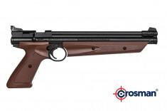 Пневматический пистолет Crosman American Classic P1377BR мультикомпрессионный 4.5мм.