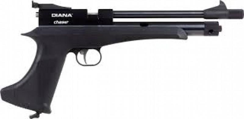 Пистолет пневматический газобалонный Diana Chaser 4,5 мм
