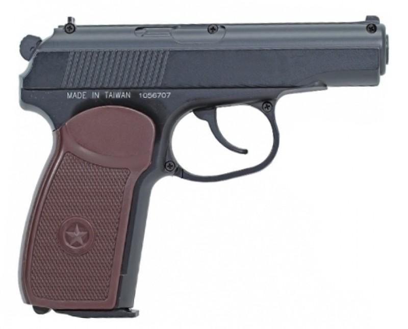 Пневматический пистолет 4,5мм. KWC PM пистолет Макарова