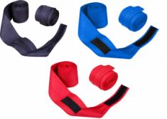 SENAT Бинт боксерський, 3м (2шт) х/б (Синій) 1017