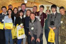 Турнир по стрельбе из пневматической винтовки среди представителей СМИ города Харькова!